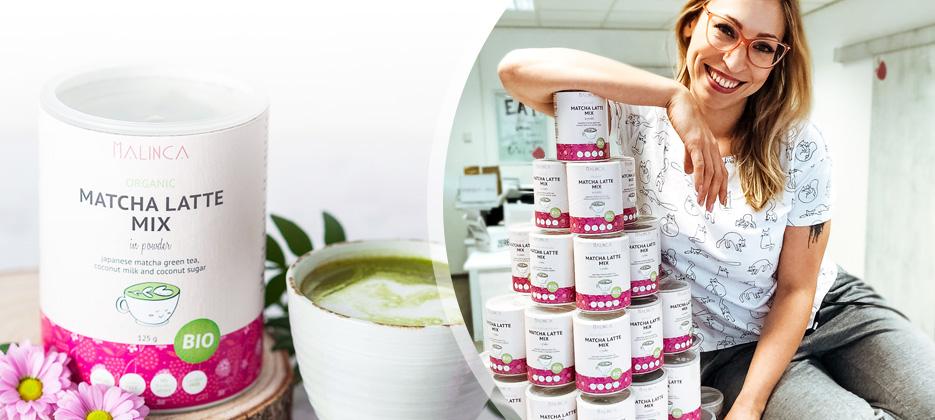 Bio Matcha latte mix  Aktionspreise >>