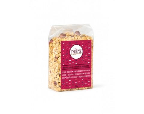 Domača granola z lešniki in brusnicami 350g