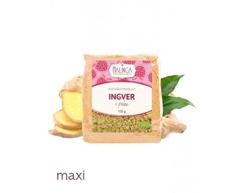 Ingver v prahu iz ekološke pridelave 100g