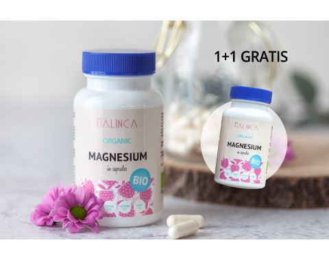 Magnezij iz ekološke pridelave 1+1 gratis