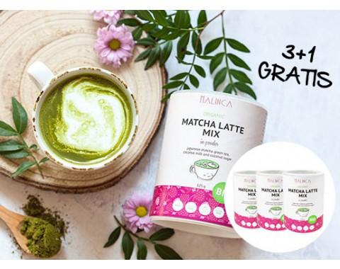 Matcha latte mix iz ekološke pridelave 3+1 gratis