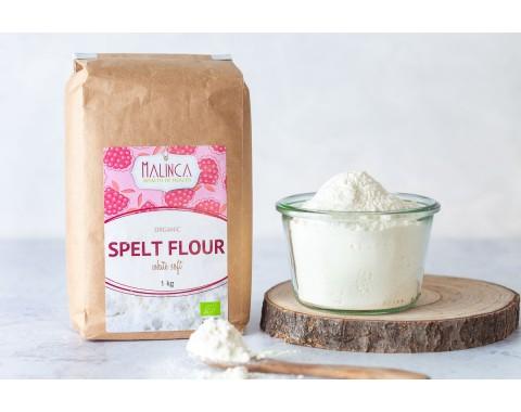 Pirina bela mehka moka iz ekološke pridelave 1kg