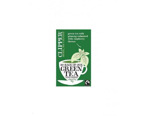 zeleni čaj z ginsengom