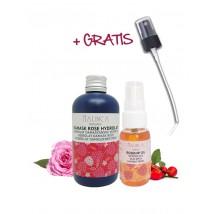 Antiage paket (bio šipkovo olje in hidrolat vrtnice)