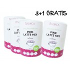 Pink latte mix 3+1 gratis