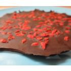 Presna čokolada z goji jagodam