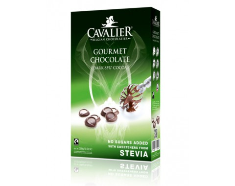 Tamna čokolada 85% u kapljicama za pečenje, bez šećera 300g