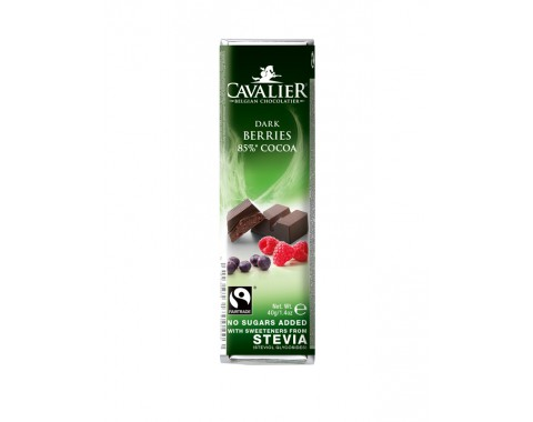 Temna čokolada malina i ribez, bez šećera 40g
