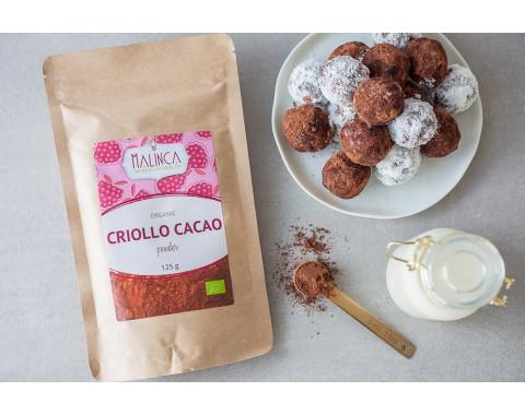 Kakao criollo u prahu iz ekološkog uzgoja 125g