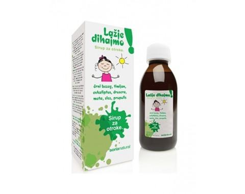Prirodni sirup za djecu za lakše disanje 150 ml