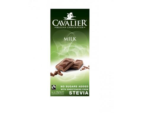 Mliječna čokolada 85% sa stevijom, bez šećera 85g
