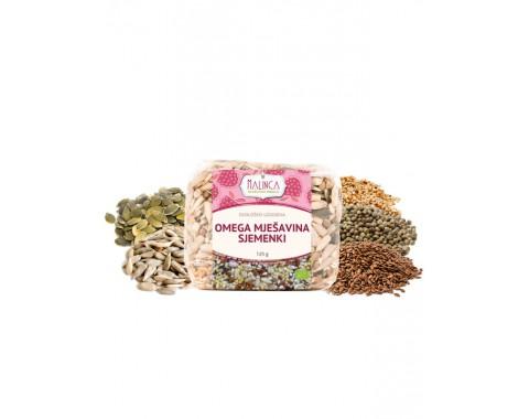 Omega mješavina sjemenki iz ekološkog uzgoja 125g