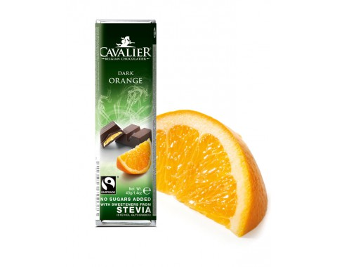 Tamna čokolada s narančom, bez šećera 40g