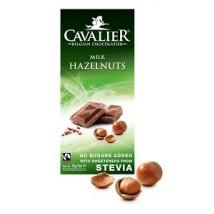 Mliječna čokolada s lješnjacima, bez šećera 85g