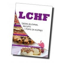 LCHF tjedni jelovnik, receptiLCHF tjedni jelovnik, recepti