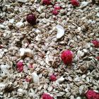 Domača granola z malinami 350g
