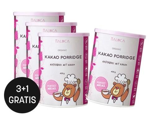 Kakao Porridge 400g 3+1 gratis