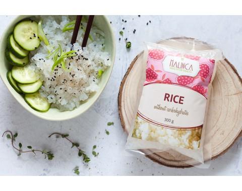Reis ohne Kohlenhydrate
