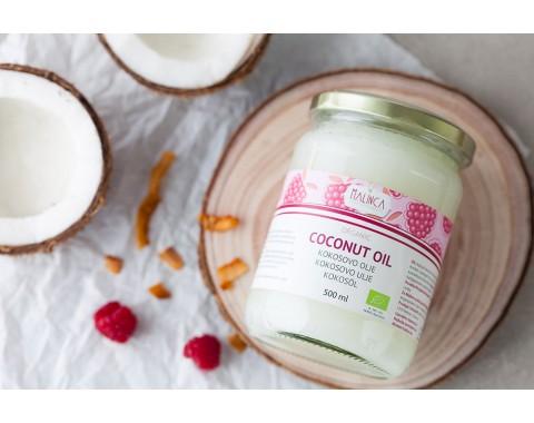 Extra natives kaltgepresstes Kokosöl aus ökologischem Landbau 500 ml