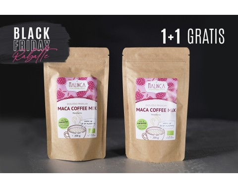 Rabatte - Maca coffee mix 1+1 gratis