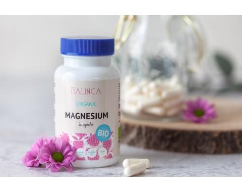 Magnesium aus ökologischem Landbau (60 Kapseln)