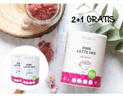 Pink latte mix 2+1 gratis