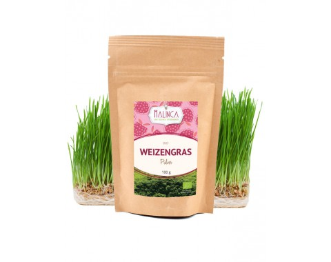 Weizengras Pulver aus ökologischem Landbau 100g