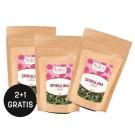 Spirulina Tabletten aus ökologischem Landbau 2+1 gratis