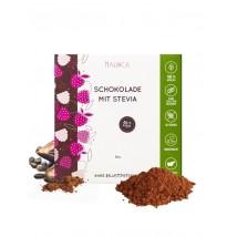 Zartbitterschokolade mit Stevia 80g