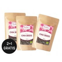 Chia Samen aus ökologischem Landbau 200 g 2+1 gratis