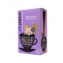 Organski čaj z okusom črnega ribeza in acai jagod
