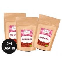 Goji Beeren aus ökologischem Landbau 2+1 gratis