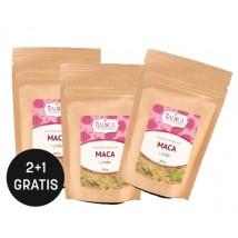 Maca Pulver aus ökologischem Landbau 200 g 2+1 Gratis