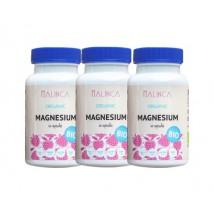 Magnesium aus ökologischem Landbau 3 x 60 Kapseln + kostenlose Lieferung