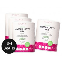 Matcha latte mix 125g 3+1 gratis naraven ang