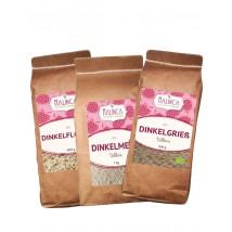 Dinkel-Paket aus ökologischem Landbau