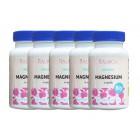 Magnesium aus ökologischem Landbau 5 x 60 Kapseln + kostenlose Lieferung