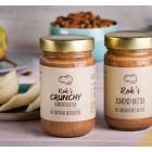 100% natürliche Crunchy Mandelbutter 300 g