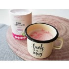 Lonček Malinca in Pink Latte Mix