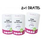 Pink Latte Mix aus ökologischem Landbau 2+1 gratis