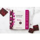 Zartbitterschokolade mit Himbeeren Malinca