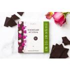 Zartbitterschokolade mit Stevia