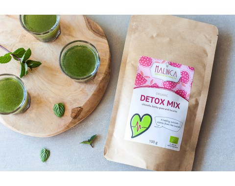 Detox mix iz ekološke pridelave 100g