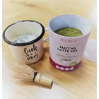 Lonček Malinca in Matcha Latte Mix