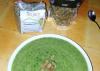 Zelen smoothi
