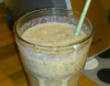 Smoothie banana kokos