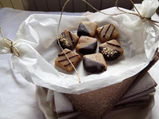Sirovi kolačići od kikiriki maslaca i kokosovog brašna