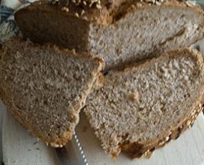 Integralni kruh bez kvasca
