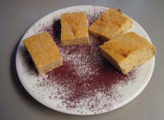 Sočen narastek s kakijem - brez sladkorja