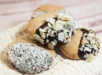 Kokosovo bademovi keksi